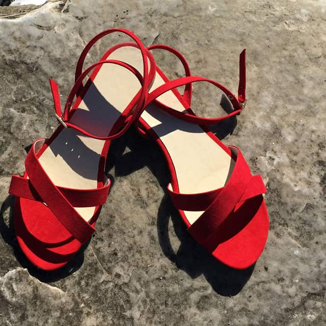 I sandali di Fera Libens