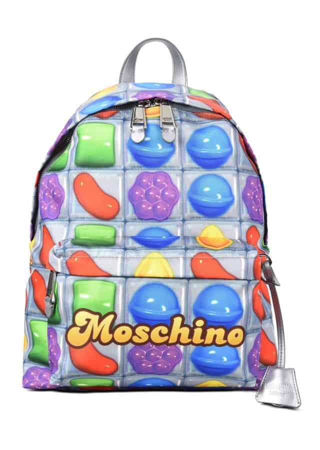 Moschino e Candy Crush