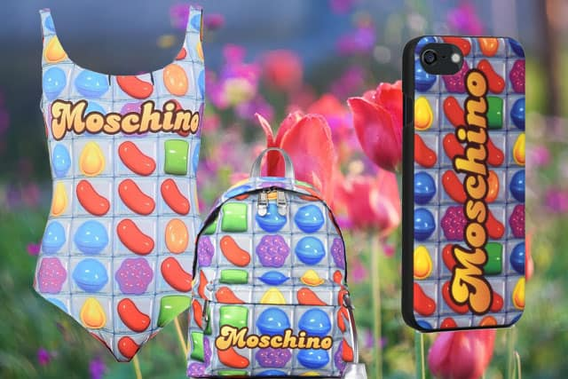 Moschino e Candy Crush