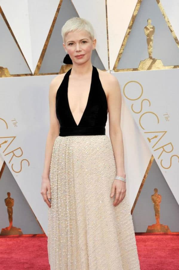 l'abito di Michelle Williams