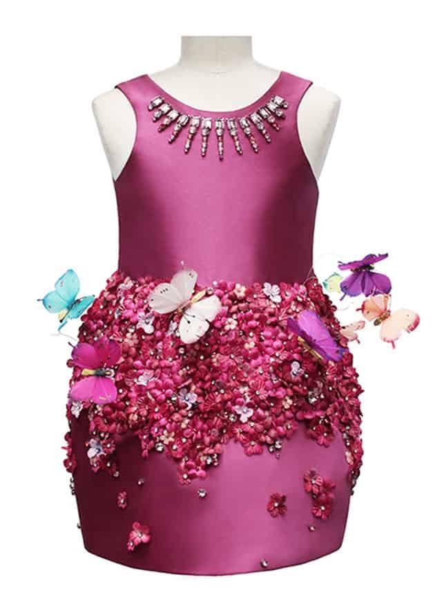 Mischka Aoki, il Butterfly Dress.