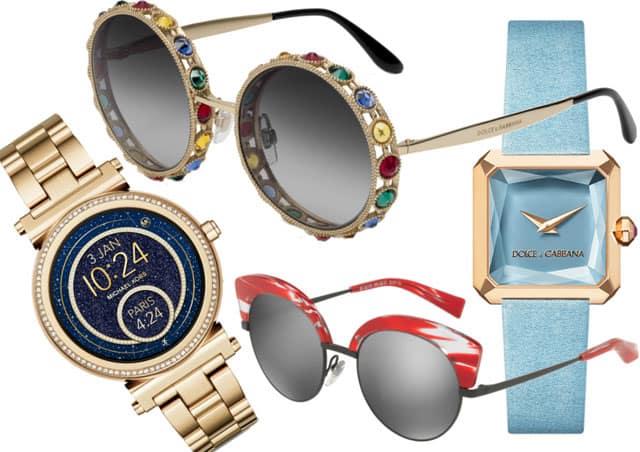 Orologi e occhiali
