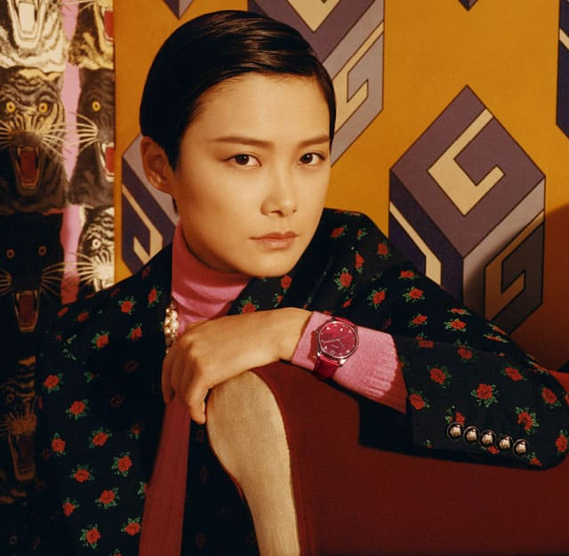 Chris Lee per Gucci