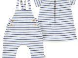 Filobio Fish & Stripes outfit-righe