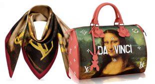 La collezione di Louis Vuitton ed il designer contemporaneo Jeff Koons