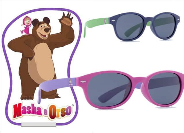 """Masha e Orso"" i nuovi occhiali di Swiss Group Eyewear"