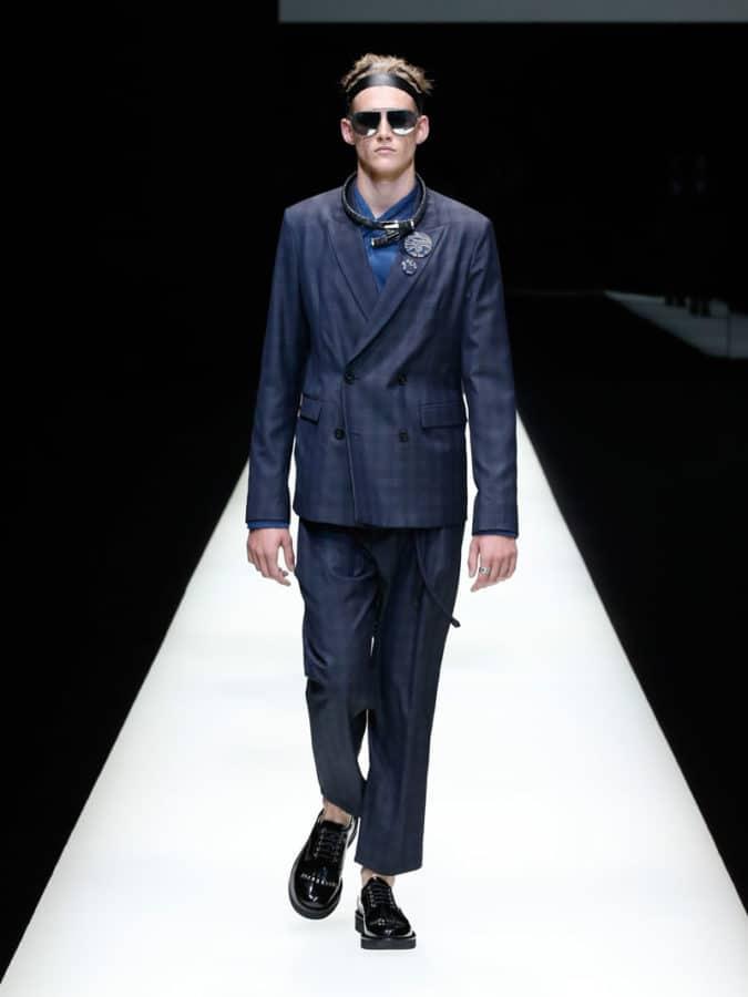 Emporio Armani Menswear SS18 2