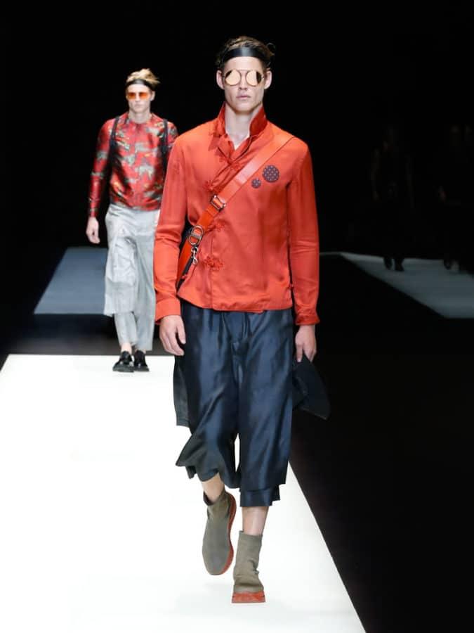 Emporio Armani Menswear SS18 5