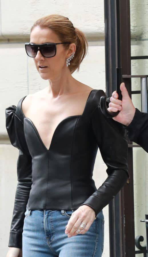 Céline Dion splende con Messika Jewelry