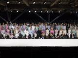 Giorgio Armani with models_ SGP