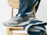 Sneaker: New Balance collabora con Woolrich
