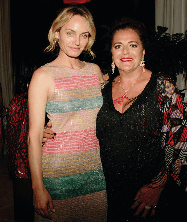 Amber Valletta, Angela Missoni