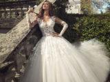 Belen Rodriguez abito da sposa Alessandro Angelozzi 01