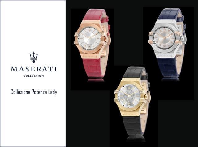Potenza Lady - orologi da donna by Maserati