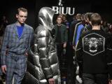 Sfilate: l'uomo BIUU veste moderno e contemporaneo
