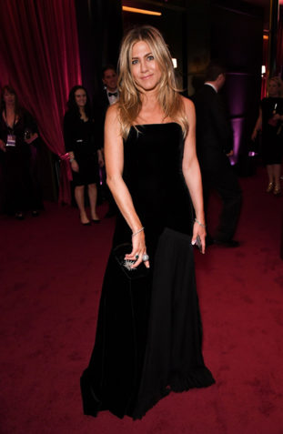 Jennifer Aniston in Schiaparelli Couture