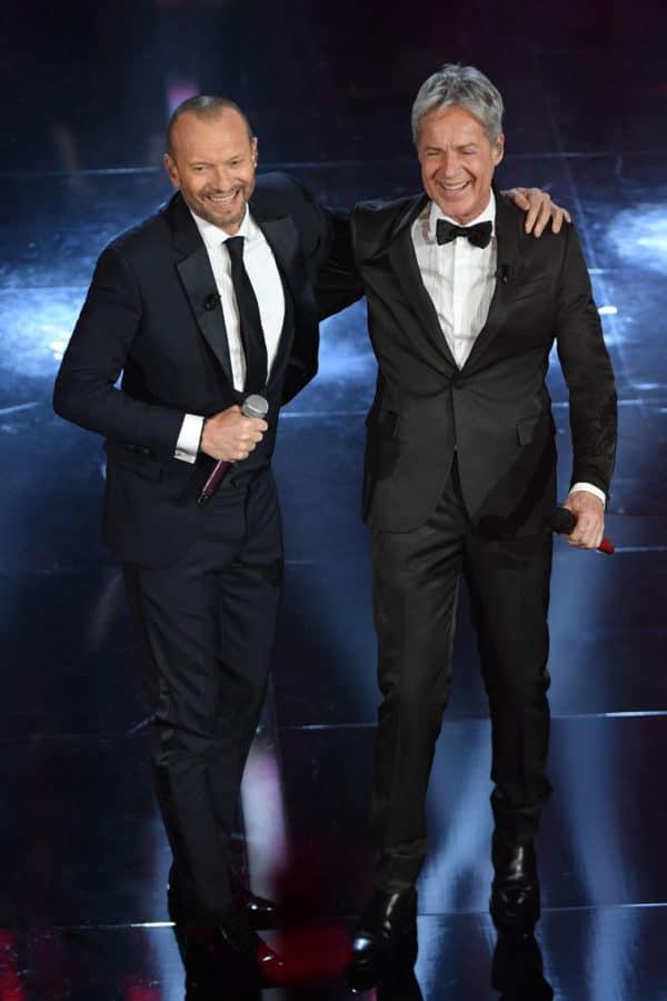 Claudio Baglioni e Biagio Antonacci vestono Ermanno Scervino