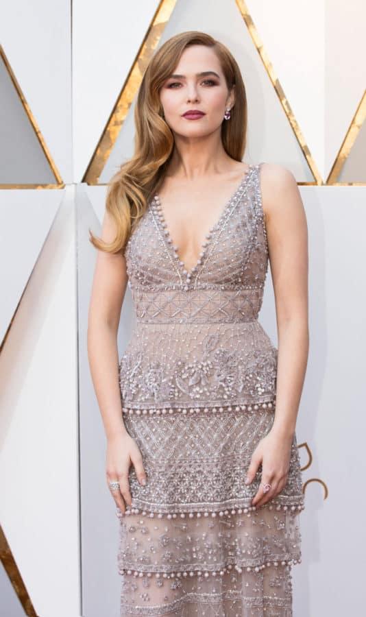 Zoey Deutch sceglie i gioielli Tiffany&Co