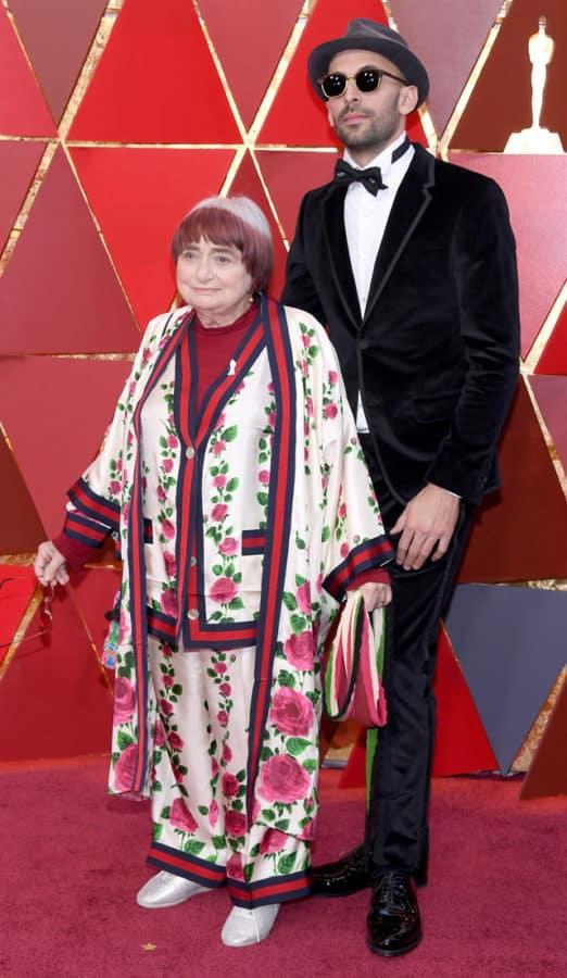 Agnès Varda in Gucci