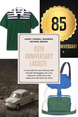 Anniversario Lacoste, 85 anni di stile