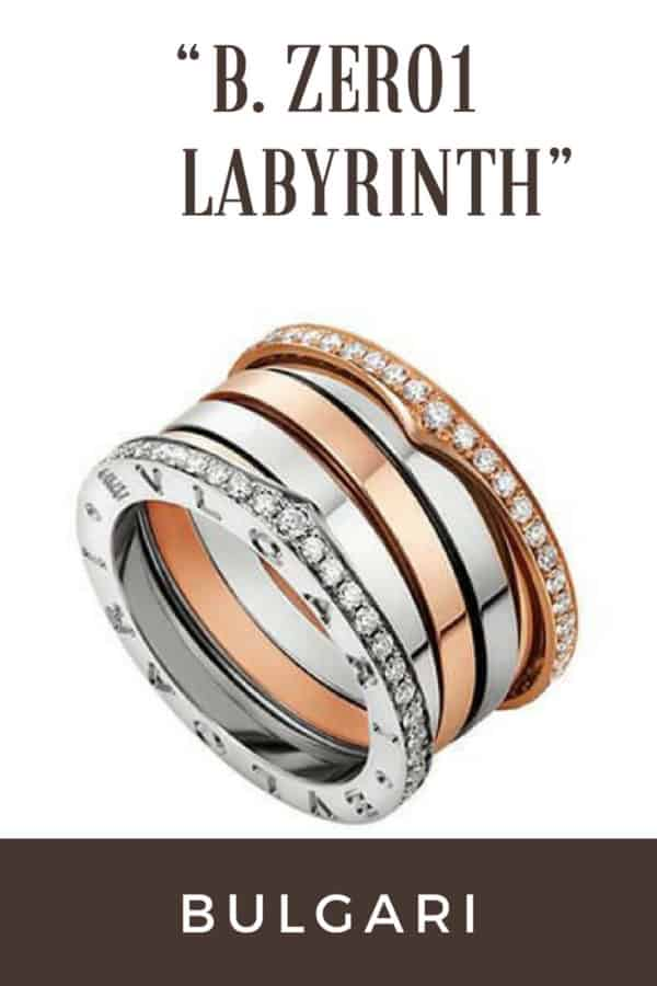"""B. Zero1 Labyrinth"" di Bulgari."