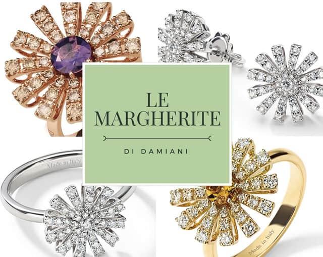 Damiani presenta la collezione Margherita