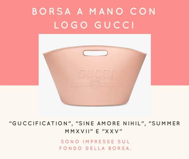 Le borse Gucci in gomma - pe2018