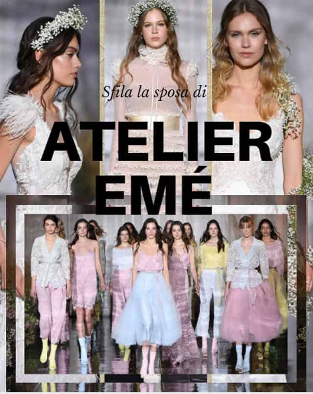 1567288e2df5 Principesse senza tempo negli abiti da sposa di Atelier Emé - SFILATE