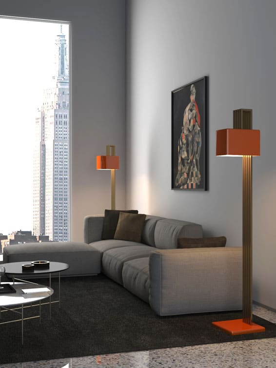 Lampada b - design Attilio Ladina