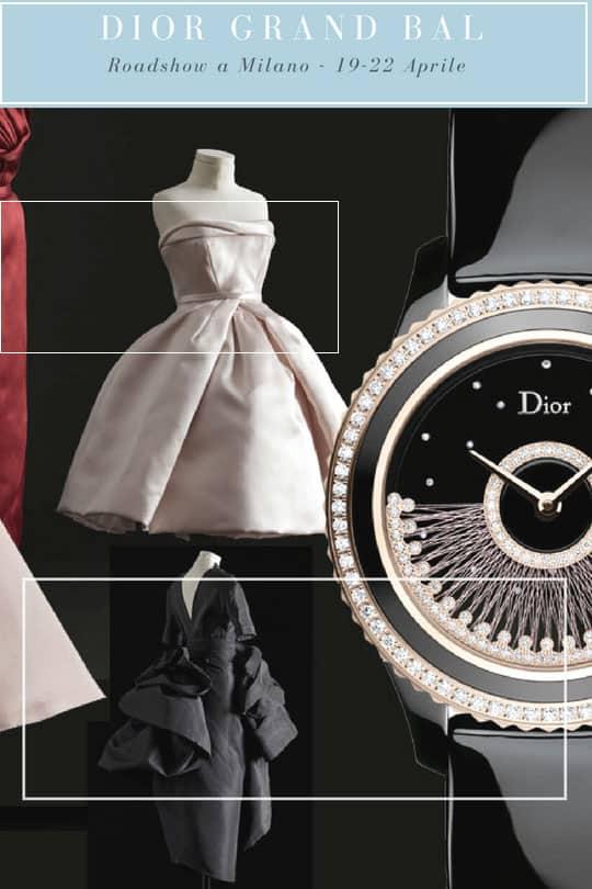 Dior Grand Bal roadshow