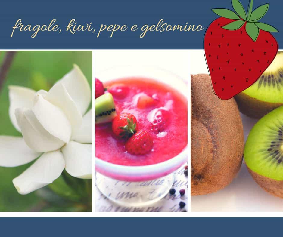 Zuppa di fragole con gelsomino e un pizzico di pepe