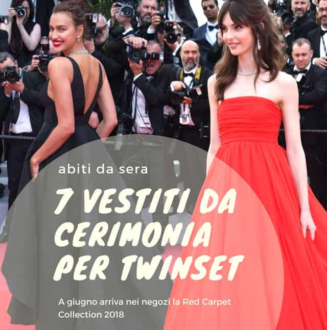 "La ""red carpet collection"" di TwinSet"