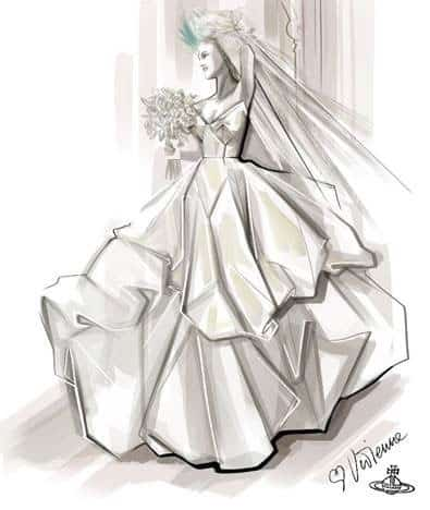 Sex & The City - Vivienne Westwood Wedding Dress