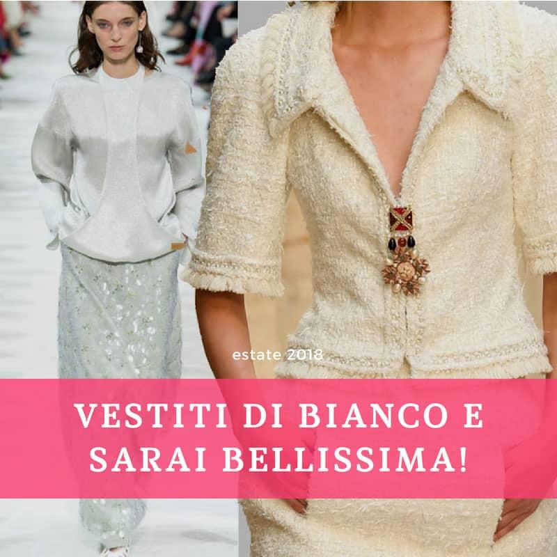 bianco - moda pe 2018