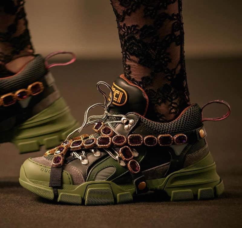 Le chunky sneakers di Gucci - SAga