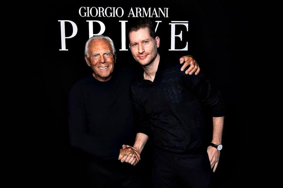 Giorgio Armani Prive collezione 2018