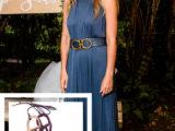 Gwyneth Paltrow: total lool Ferragamo. Dalla testa ai piedi