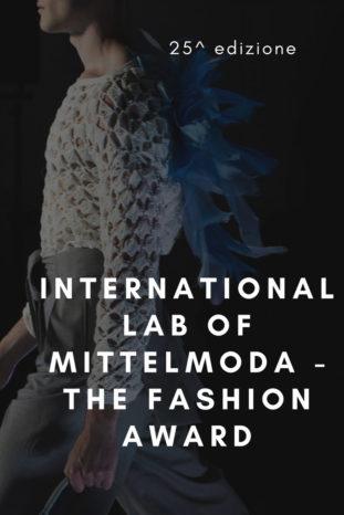 'International Lab of Mittelmoda - The Fashion Award