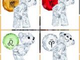 L'orsetto in cristallo di Swarovski & l'oroscopo