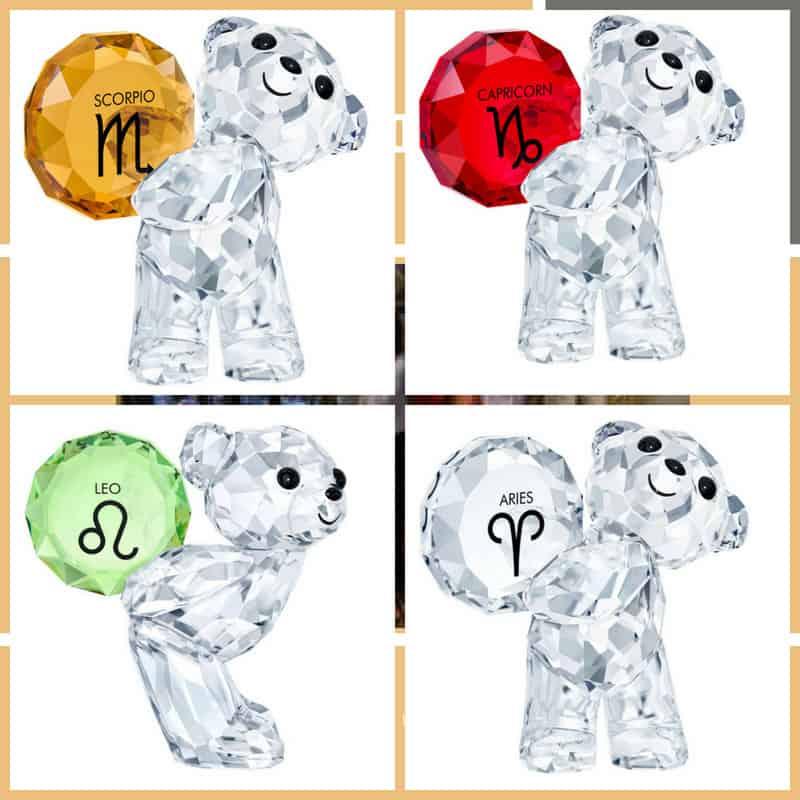 Kris Bear, l'amato orsetto in cristallo firmato Swarovski e l'oroscopo