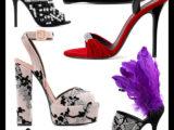 Dualismo audace per le scarpe di Giuseppe Zanotti