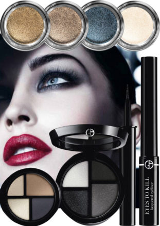 il make up di Armani