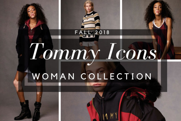 Tommy Icons Fall 2018 woman collection