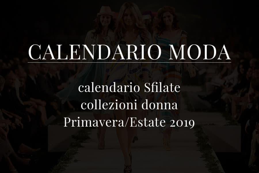 Calendario Sfilate Parigi Settembre 2020.Calendario Della Moda Sfilate