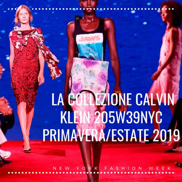 CALVINKLEIN 205W39NYC - ss 2019