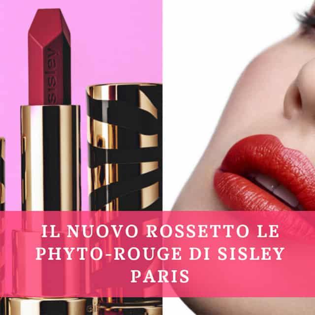 Sisley Paris lancia Le Phyto-Rouge