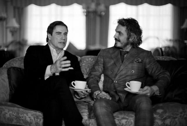 Matteo Perin e  John Travolta