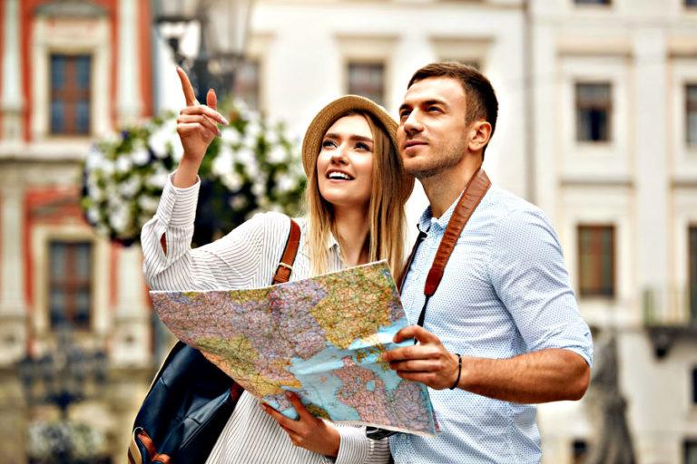viaggio romantico di coppia