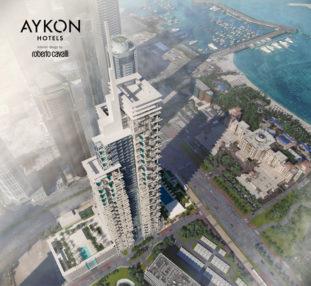 AYKON-Hotels interior design by Roberto Cavalli