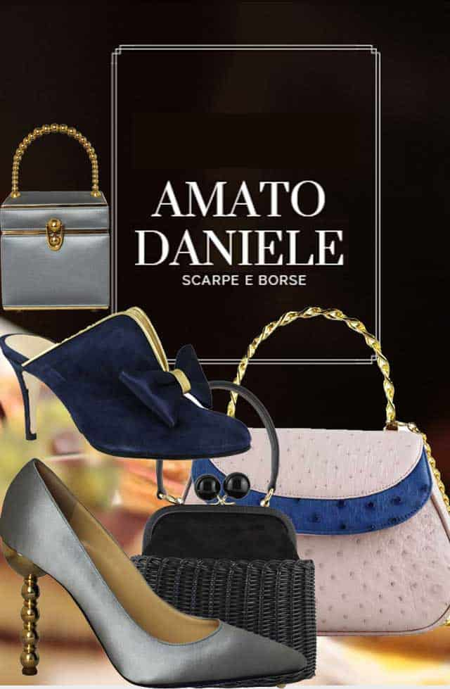 Amato Daniele Shoes - scarpe e borse - collezione ss2019